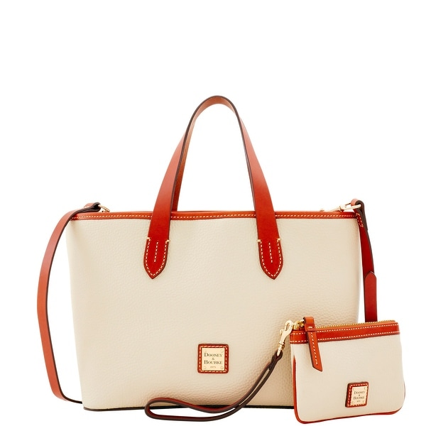 Dooney & Bourke Pebble Grain Small Briana & Med Wristlet (Introduced by Dooney & Bourke at $278 in Feb 2017)