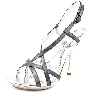 Chinese Laundry deuces wild Women Open Toe Leather Gold Sandals