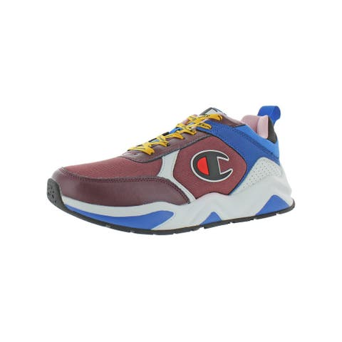 Champion Mens 93eighteen Block Athletic Shoes Lifestyle Performance - Maroon/Multi - 11 Medium (D)