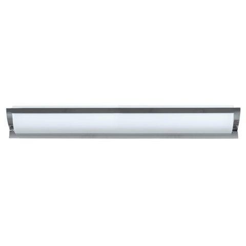 Besa Lighting ELANA50-SW Elana 5 Light Bathroom Vanity Light with Satin White Glass Shades