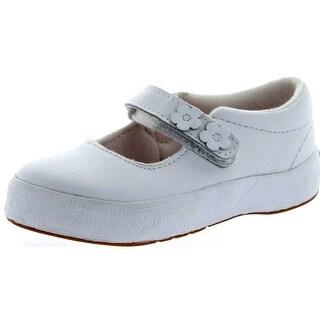 Keds Girls Pheobe Flats Shoes - White