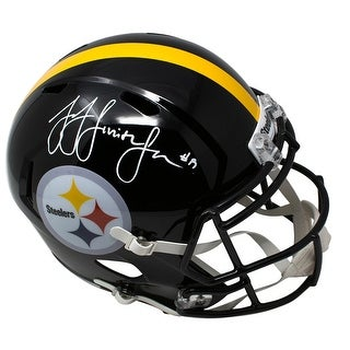 JuJu Smith Schuster Signed Pittsburgh Steelers Full Size Spd Replica Helmet JSA