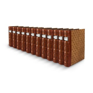 Bellagio-Italia Tuscany DVD Binder- Cognac 12-Pack