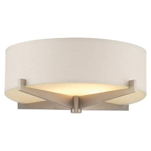Forecast Lighting F2874 A La Carte White Gr Cloth Shade From The Fisher Islan