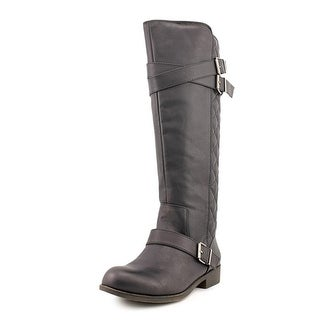 Madden Girl Calinda Round Toe Synthetic Knee High Boot