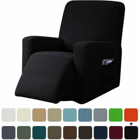 Subrtex Stretch Recliner Silpcover Jacquard Lazy Boy Chair Covers