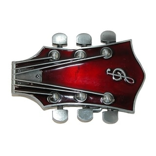 CTM® Guitar Head Belt Buckle - One Size