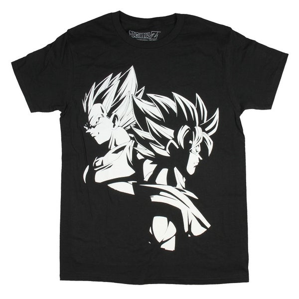 4168b4b48 Shop Dragon Ball Z Shirt Men's Fighter Goku Gohan Black White Adult T-shirt  - Free Shipping On Orders Over $45 - Overstock - 24184742