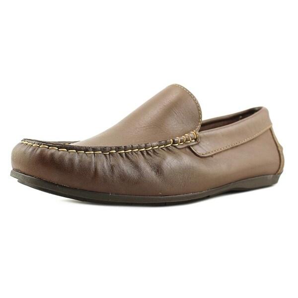 Florsheim Jasper Venetian Men 3E Moc Toe Leather Brown Loafer