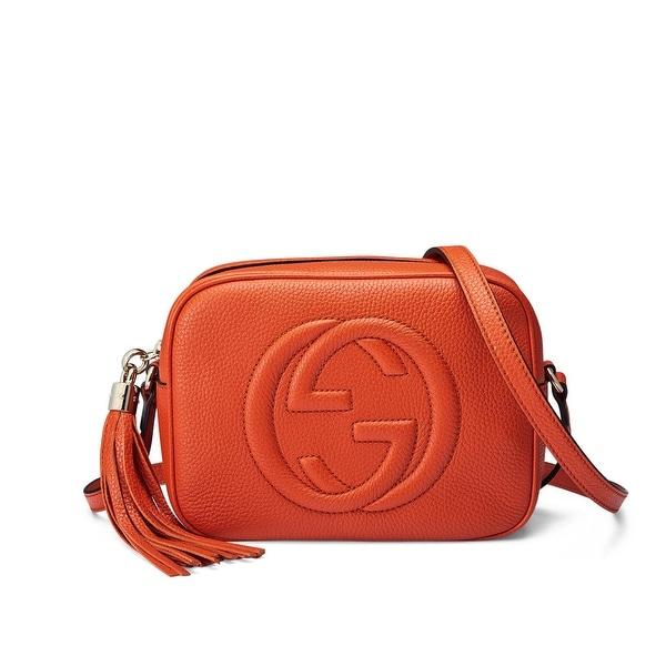 Gucci Soho Leather Disco Bag Sun Orange