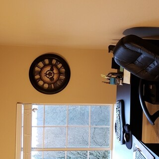 "FirsTime® Gear Works Wall Clock - 24"""