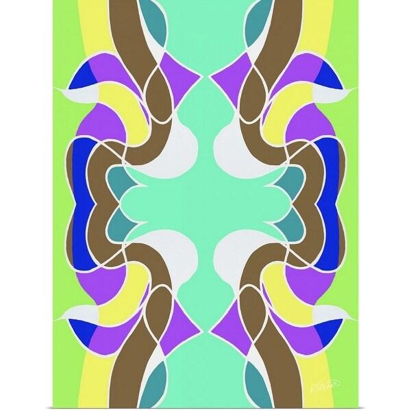 """MMM 2018 Pattern Light"" Poster Print"