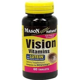 Mason Natural Vision Vitamins Tablets With Lutein 60 ea