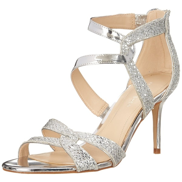 Marc Fisher Womens Lexcie2 Open Toe Special Occasion Slide Sandals