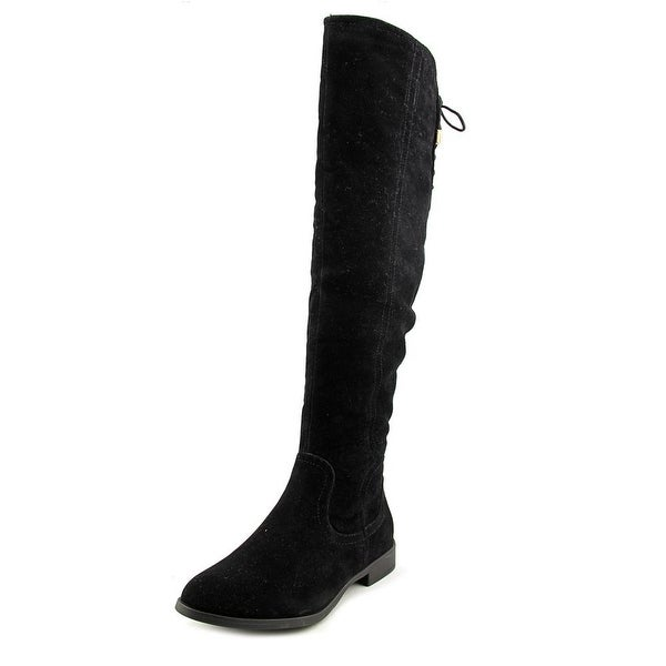XOXO Trishh2 Round Toe Suede Knee High Boot