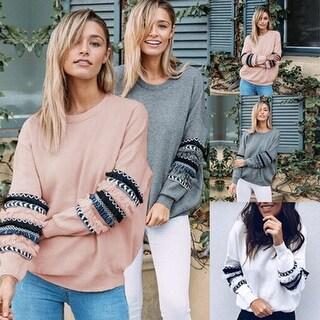 Fashion Round Neck Hoodie Sweatshirt Pullover