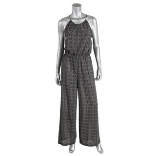 Sanctuary Womens Capetown Chiffon Sheer Jumpsuit - L