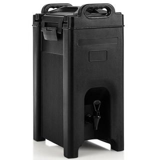 Costway Insulated Beverage Server/Dispenser 5 Gallon Hot Cold Drinks
