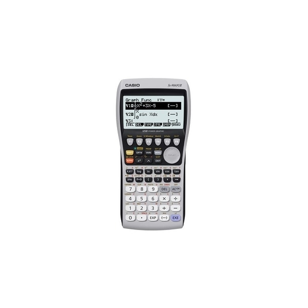 Casio FX-9860GII Casio FX-9860GII Graphing Calculator - 21 Digit(s) - LCD - Battery Powered
