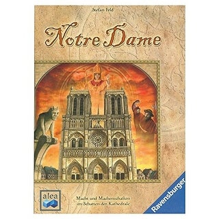 Ravensburger Notre Dame: 10th Anniversary Edition Strategy Board Game
