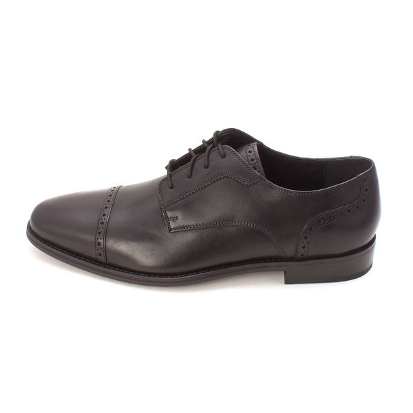 Cole Haan Mens Giraldo LX Cap Ox II Lace Up Dress Oxfords