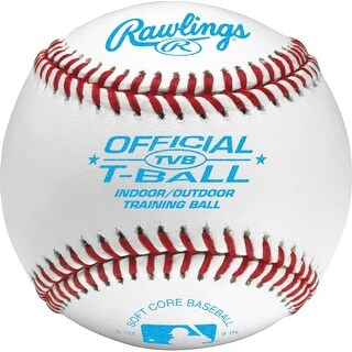 Rawlings Official Tee Ball/Coach Pitch Baseball (Dozen)
