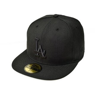 Mlb Los Angeles Dodgers 59Fifty Fitted Cap - Black