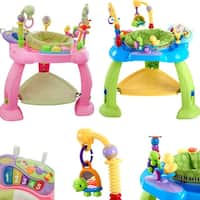 Huile Baby Activity Learning Center Baby Stationary Jumper Bounce Seat