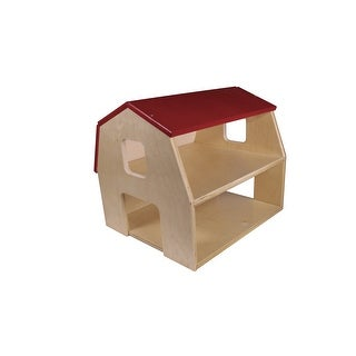Childcraft Big Red Toy Barn, 18-1/4 x 15-5/8 x 15-9/16 Inches