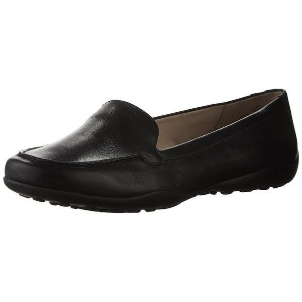 Easy Spirit Womens Jeyden Almond Toe Slide Flats