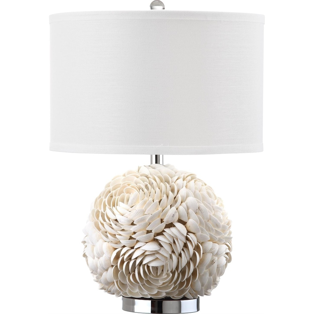 Safavieh Lighting 23 Inch Pauley White Table Lamp 16 X16 X23 On Sale Overstock 9527230