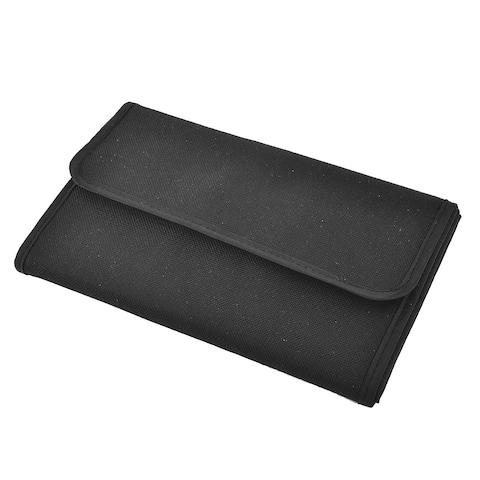 Unique Bargains Digital Camera Lens 10 Slots Filter Case Bag Wallet Pocket Pouch Holder