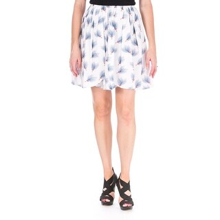 Marianna Cimini Womens Corolla A-Line Skirt Printed Pleated - 40