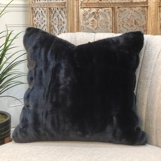 Link to BOCALE, fauxfur  Pillow 20x20, Feather/down fill Similar Items in Decorative Accessories