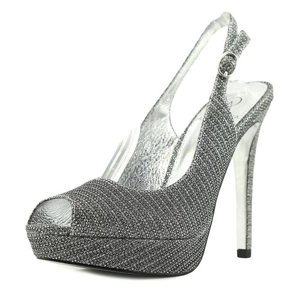 Adrianna Papell Wallace Pewter Pumps