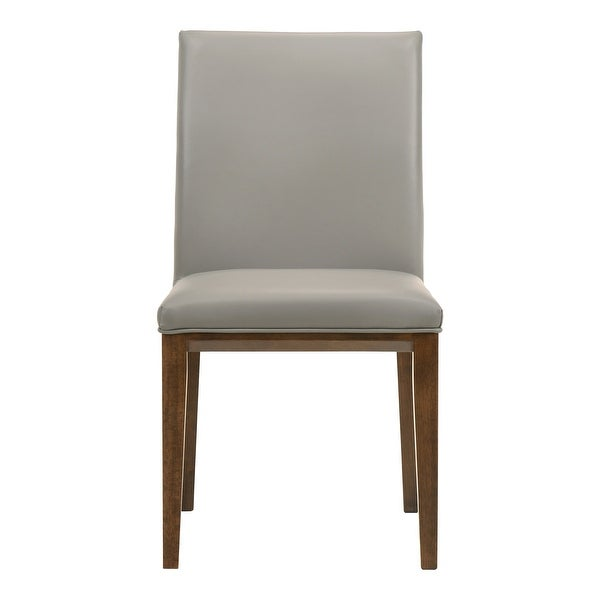 Aurelle Home Modern Leather Parson Dining Chairs (Set of 2). Opens flyout.