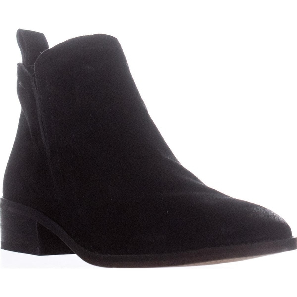 Dolce Vita Tessey Short Ankle Booties, Onyx