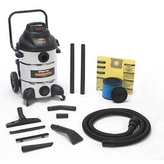 Shop VAC 9621310 12 Gal Automotive Professional Stainless Steel Wet/Dry Vac