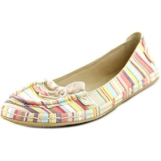 Rocket Dog Wilkin Women Moc Toe Canvas Flats