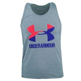 Under Armour Girls' Big Logo UA Tank Top