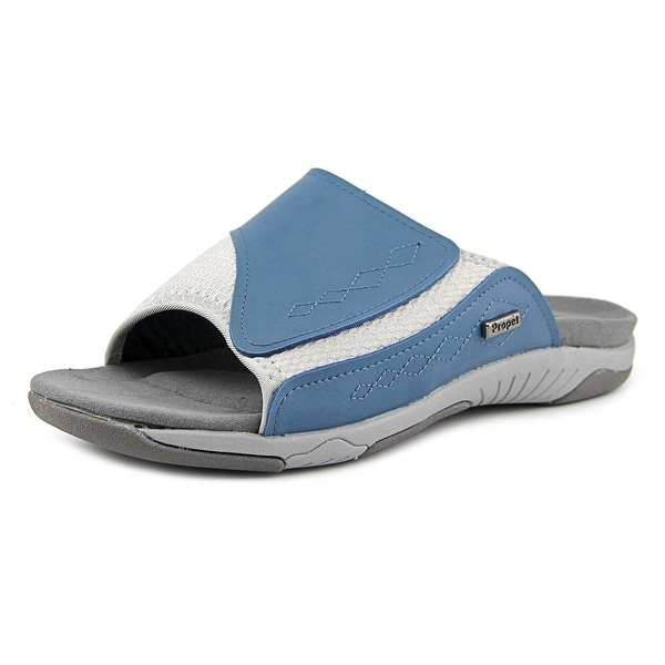 Propet Maxine Elite Open Toe Synthetic Slides Sandal