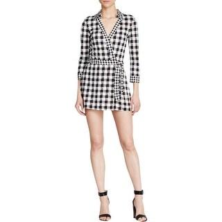 Diane Von Furstenberg Womens Romper Silk Pattern - 6