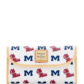 Dooney & Bourke NCAA Ole Miss Continental Clutch (Introduced by Dooney & Bourke at $128 in Jan 2016)