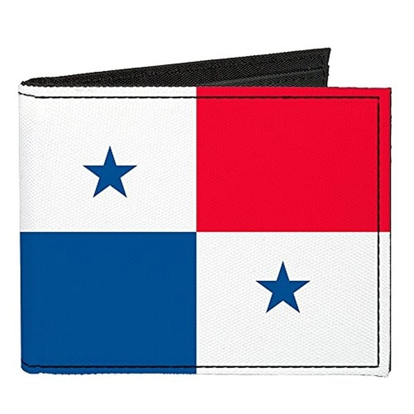Buckle-Down Canvas Bi-fold Wallet - Panama Flag Accessory