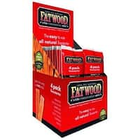 Fatwood 09900 4 Pieces Poly Bag Fire Starter