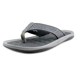Kenneth Cole Reaction Go Four-th Men Open Toe Leather Thong Sandal