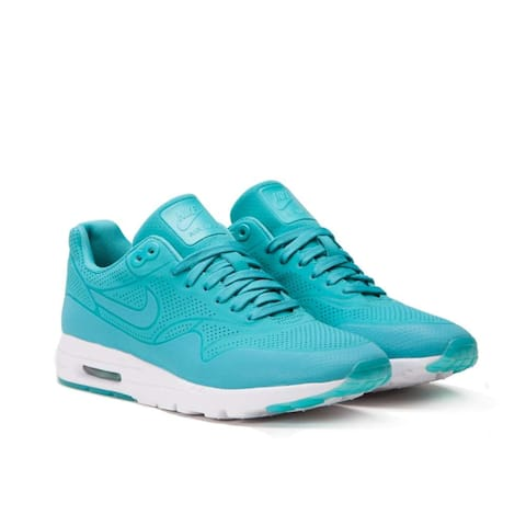 Nike Womens 1 Ultra Moire Fabric Low Top Lace Up Running Sneaker