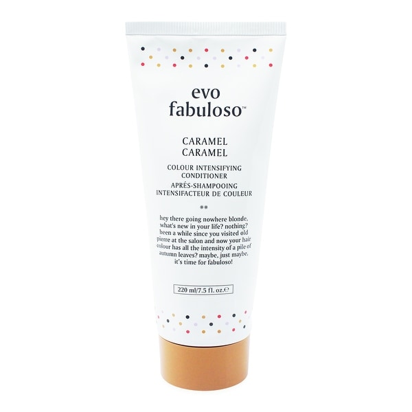 EVO Fabuloso Caramel Colour 7.5-ounce Intensifying Conditioner