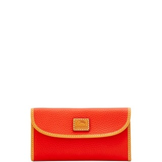 Dooney & Bourke Patterson Leather Continental Clutch Wallet (Introduced by Dooney & Bourke at $128 in Dec 2017)