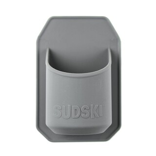 Sudski Can Holder for Shower - Sticks to Bath Shower Wall